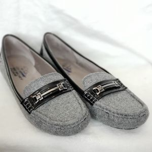 Life Stride Grey Loafers